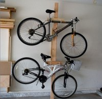 Bike Rack for Garage: Get It to Saving Space   Home Interiors