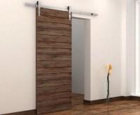 Interior sliding barn doors with modern door hardware ...