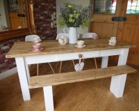 Farmhouse Style Dining Tables For Classic and Country Home ...