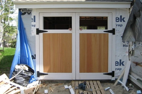 Swing Out Garage Doors: How To Build In Three Steps