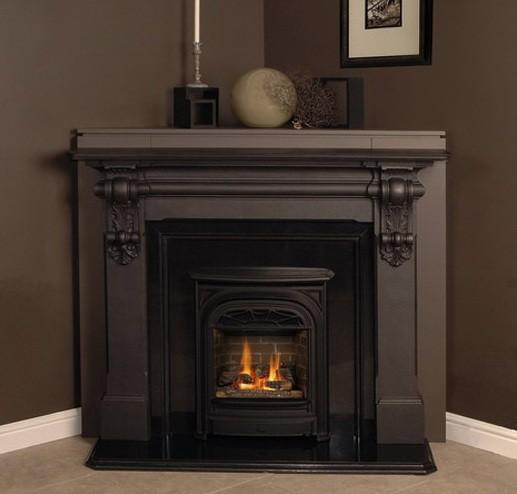 corner shelf for living room pictures fireplace design ideas with elegant mantel | home ...