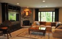 Corner Fireplace Design Ideas with Elegant Mantel | Home ...