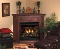 Corner Fireplace Design Ideas with Elegant Mantel   Home ...