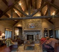Track Lighting For Log Homes