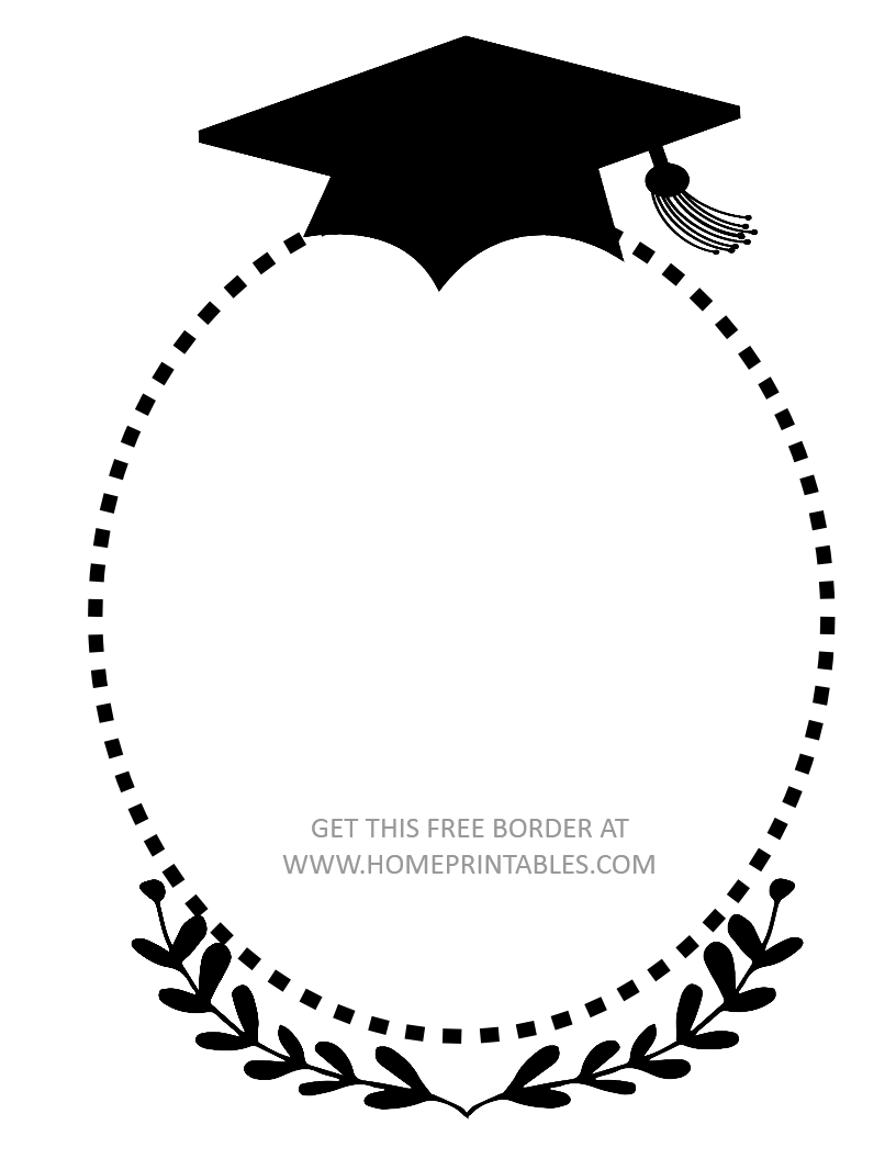 15 Free Graduation Borders With