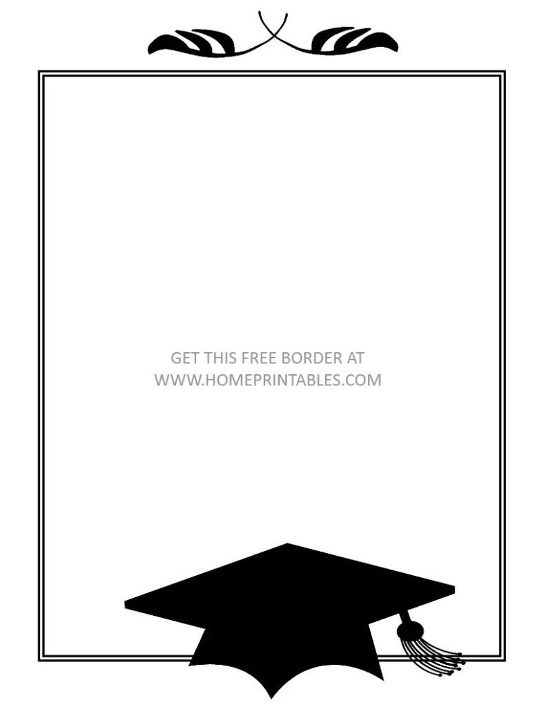 graduation border 2