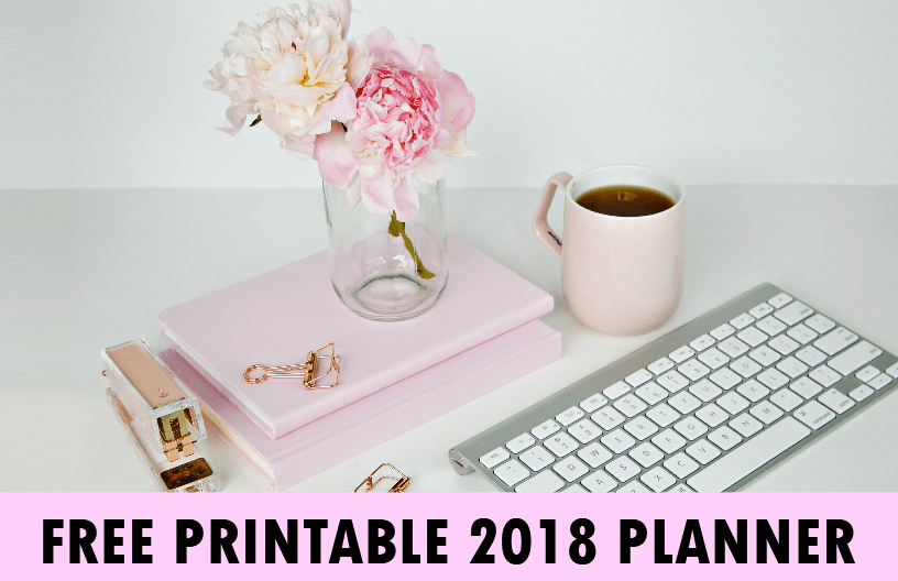 Monthly 2018 planner