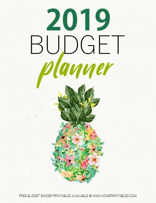 2019 Budget Planner