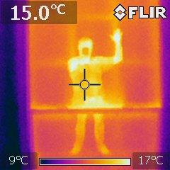 Roger Williamson in infrared