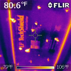 Engineered roof decking keeps attic cooler