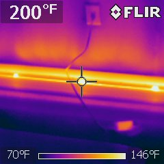 Safety concern noted during home inspection