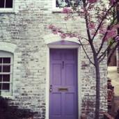 27 Colorful Doors || HOMErandRuth.com