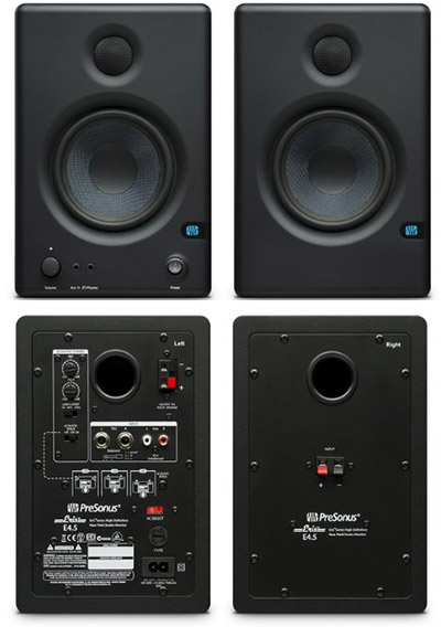 Presonus-Eris-e4.5-back-and-front