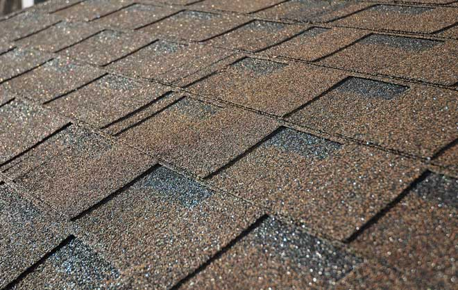 Brown Asphalt Shingled Roof