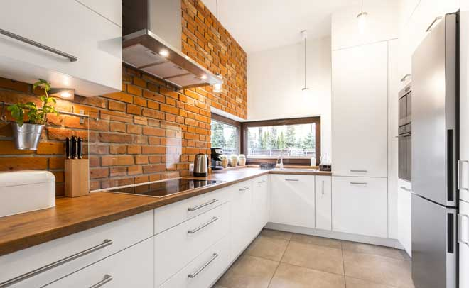 Brick Kitchen Wall