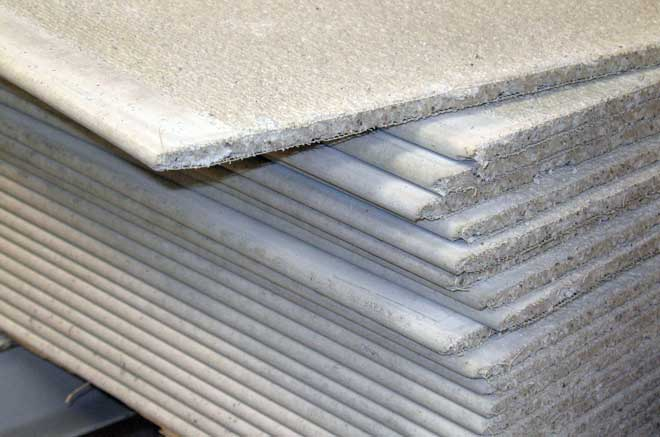 Stack of Cement Boards