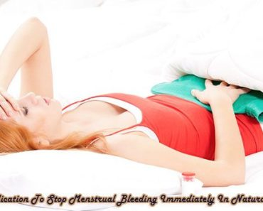 15 Medication To Stop Menstrual Bleeding Immediately In Natural Ways