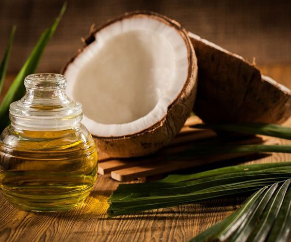 Coconut oil uses for dry frizzy curly hair