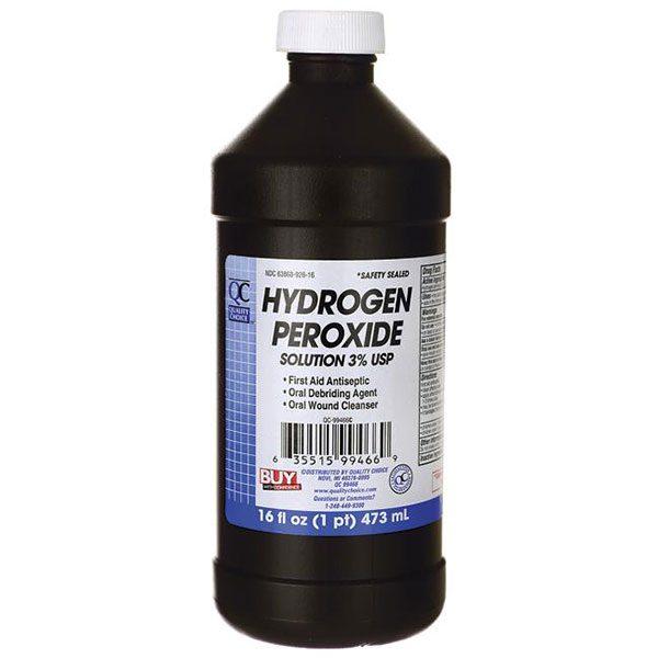Hydrogen Peroxide  for teeth whitening fast