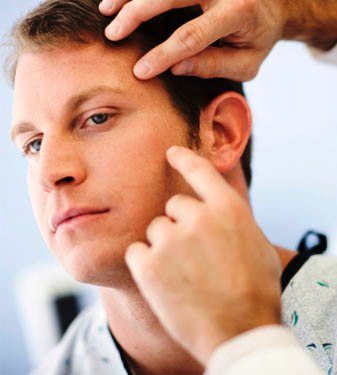 See a Dermatologist or Skin Specialist
