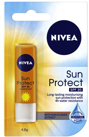Use sunscreen protection for the lips