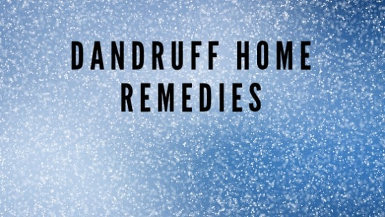 Dandruff-home-remedies