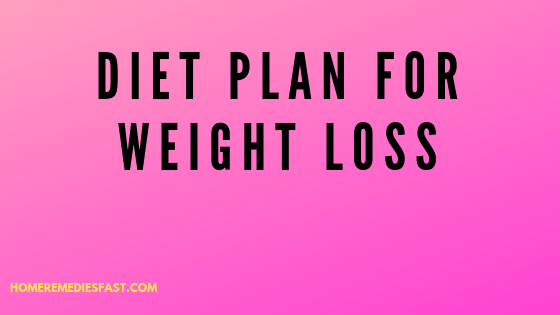 Diet-plan-for-weight-loss