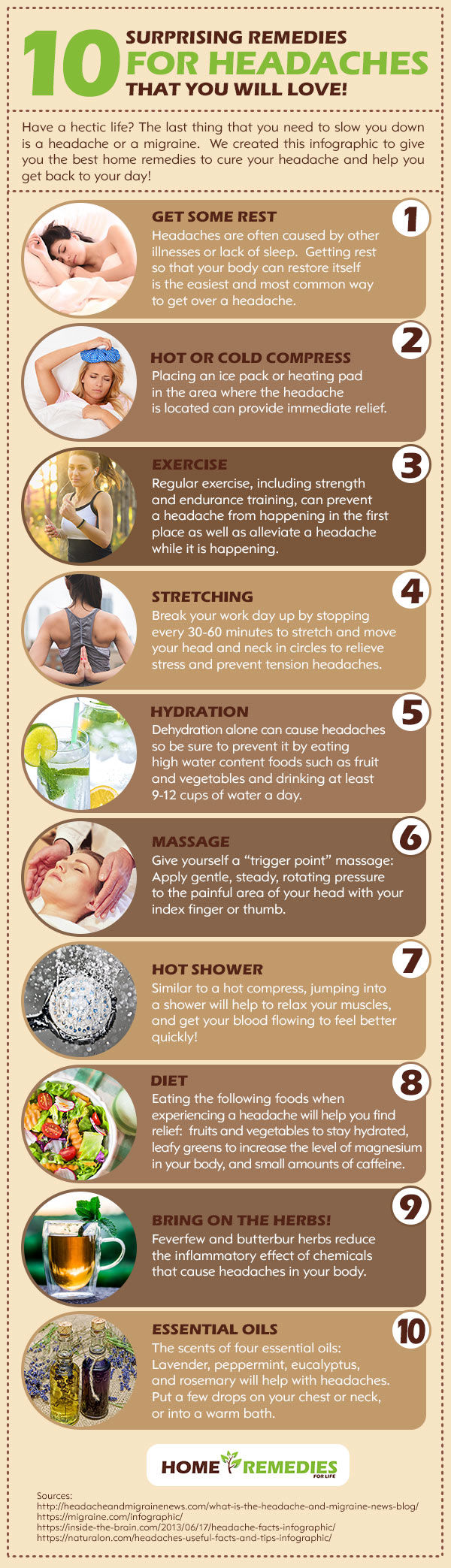 10 Surprising Remedies for Headaches That You Will Love!