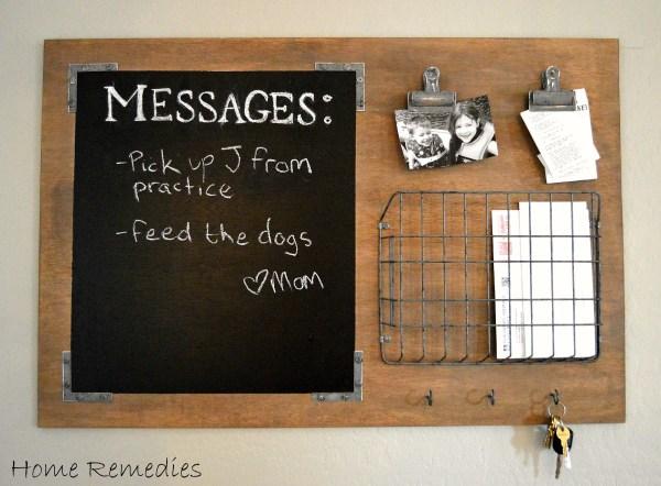 Industrial DIY Message Board