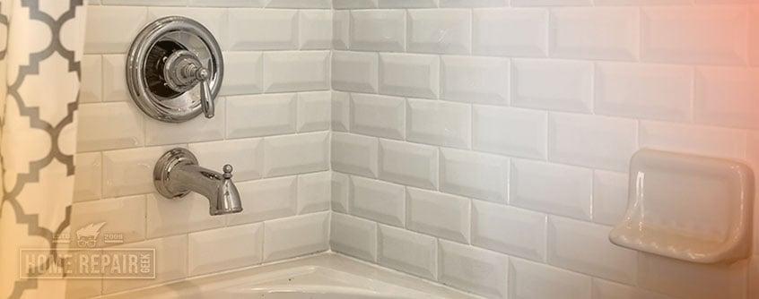 shower diverter valve fix tub spout