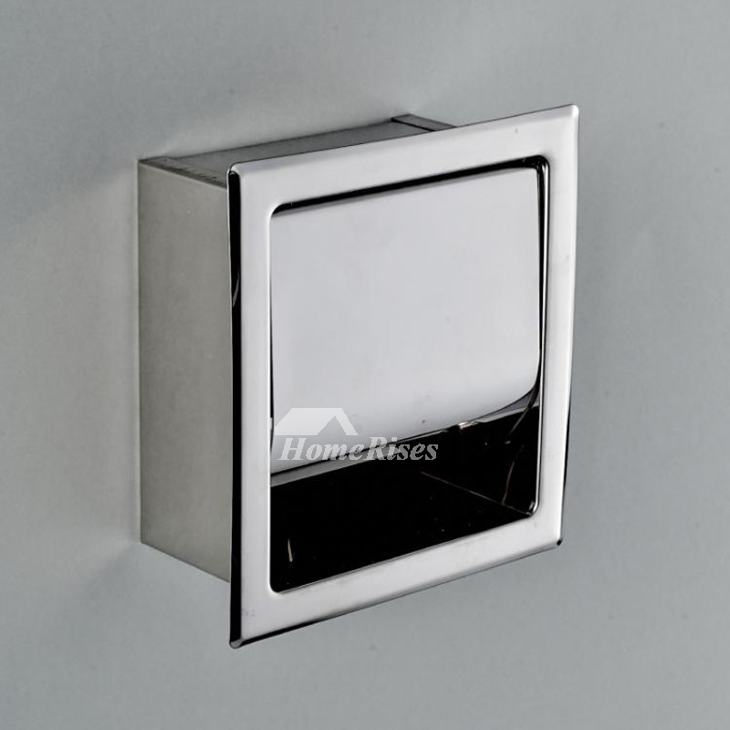 Designer Door Knockers Designer Recessed Toilet Paper Holder Square Shaped