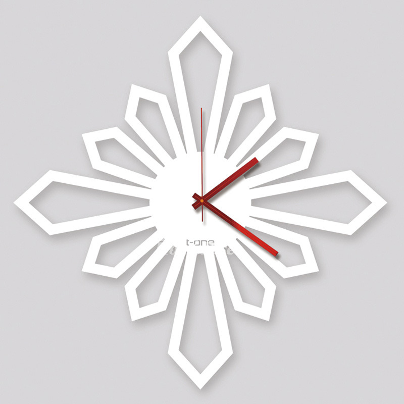 White Wall Clock Large Unusual Wall Clocks Decorative Hanging Creative Acrylic