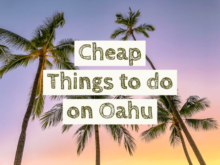 Free and Cheap Things to do on Oahu
