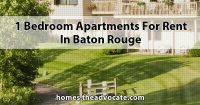 1 Bedroom apartments for Rent in Baton Rouge