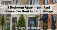 3 Bedroom apartments and houses for Rent in Baton Rouge