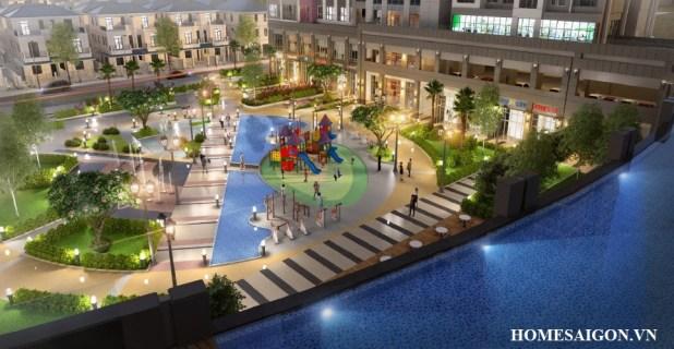 Quảng trường công viên Victoria Village q2