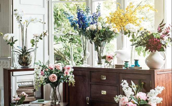 Fabulous faux homes interiors scotland multiyorks range of artificial flowers from 19 mightylinksfo