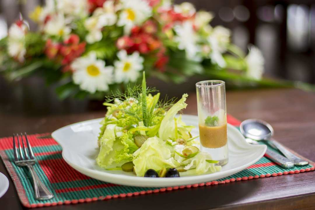 healthy vegetable juices served in Homes Bungalow Kandy