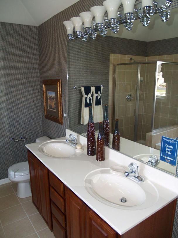 New Home Model Biltmore Master Bath