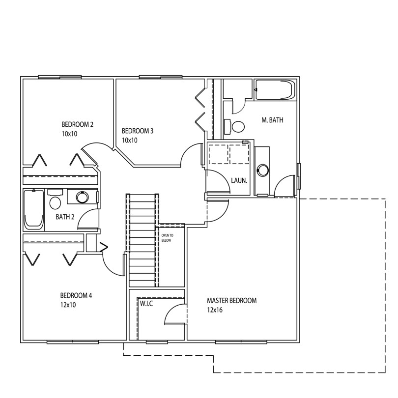 New Home Model Oakton 2nd Floor