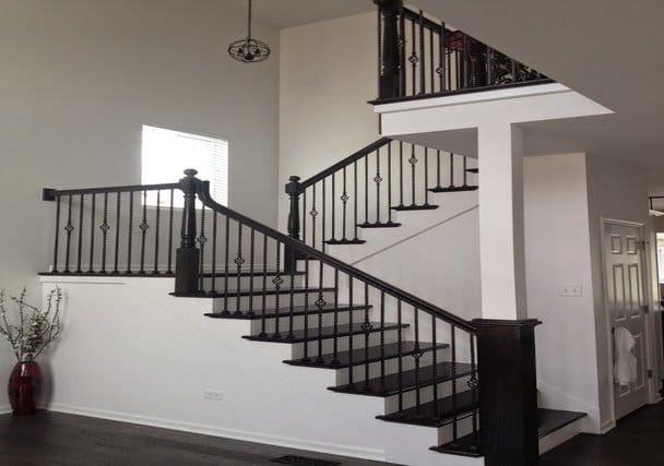 New Home Construction in Joliet, IL - Bristol Stairs