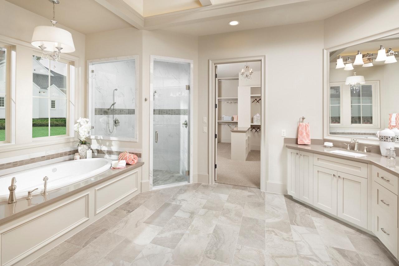 20 Luxury Small Bathroom Design Ideas 2017 2018: Morning Star Builders