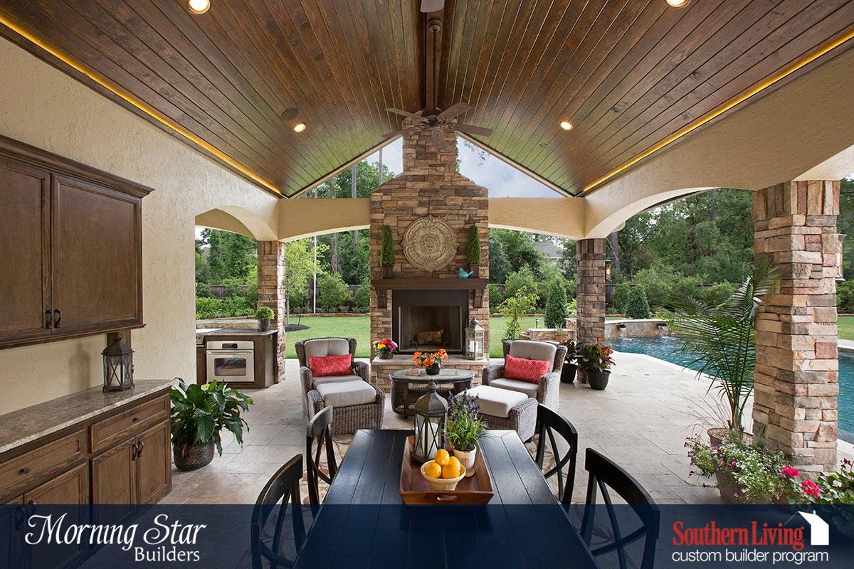 Outdoor Living Morning Star Builders