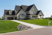 Custom Home Exteriors - Builders &