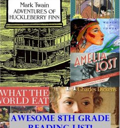 Recommended 8th Grade Reading List   Homeschool Curriculum [ 1024 x 768 Pixel ]
