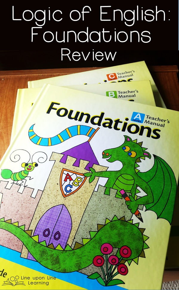 The Logic of English Foundations program is comprehensive and fun for my kindergartner. Although the lessons are scripted, the games and built-in review make it flexible to meet our needs!