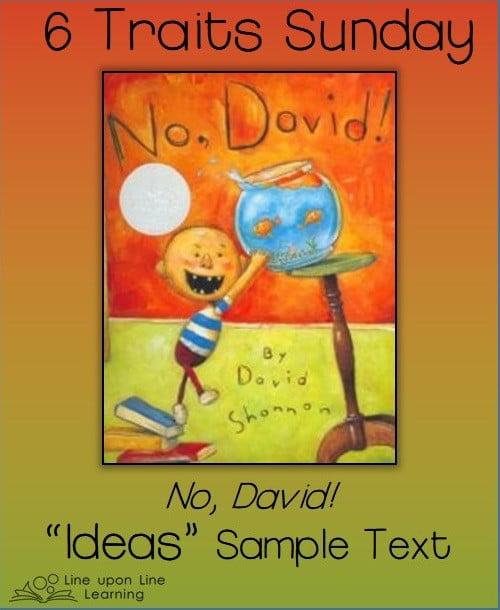 6 traits sunday no david ideas