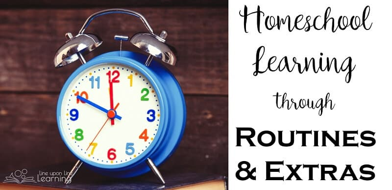 It's rough to get back in to a homeschool learning routine, but once we get the routines down and find ways to learn from our homeschooling extras, our weeks can go smoothly!