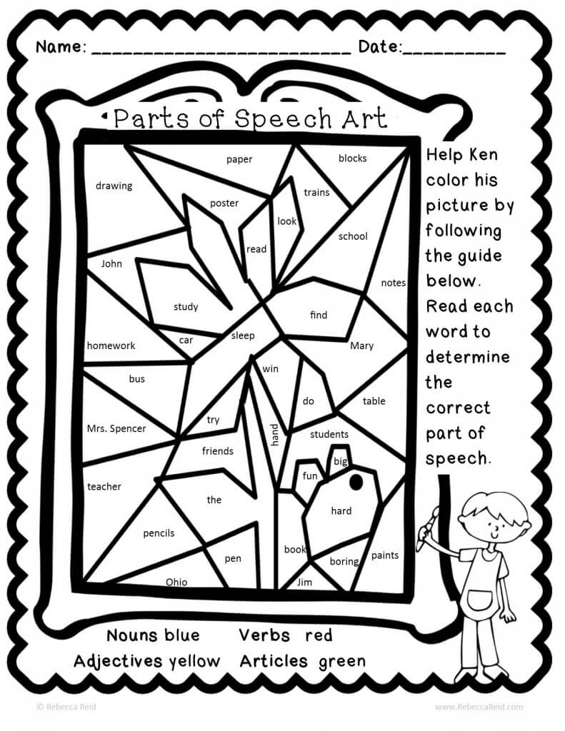 Speech Coloring Sheet Coloring Pages