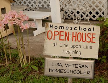 homeschool open house LISA